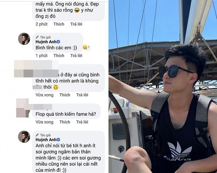Huỳnh Anh mắng fan đồ sáo rỗng chỉ vì khuyên anh ngủ sớm giữ sức khỏe-5