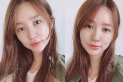 'Thái tử phi' Yoon Eun Hye khoe mặt mộc không tì vết