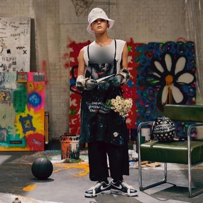 Sơn Tùng gây tranh cãi vì sử dụng biểu tượng hoa cúc như G-Dragon-5