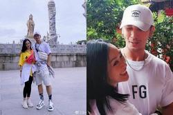 Vợ chồng 'bom sex gốc Việt' lên chùa cầu con