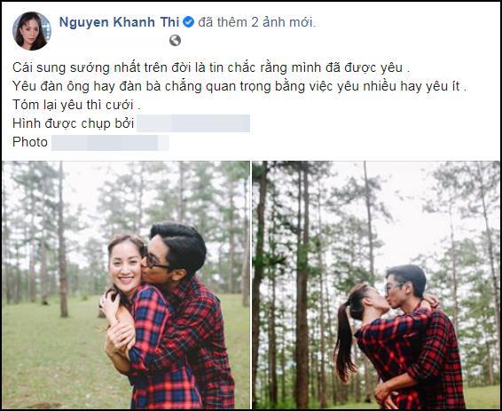 Khánh Thi: Sẽ không tổ chức đám cưới với Phan Hiển-1