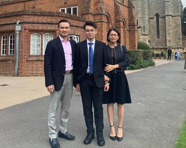 Con trai Công Lý và các quý tử điển trai, cao nổi bật của nghệ sĩ Việt-9