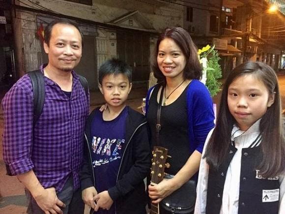 15 tuổi, con gái út của cố nhạc sĩ Trần Lập xinh đẹp phổng phao, ra dáng thiếu nữ-8