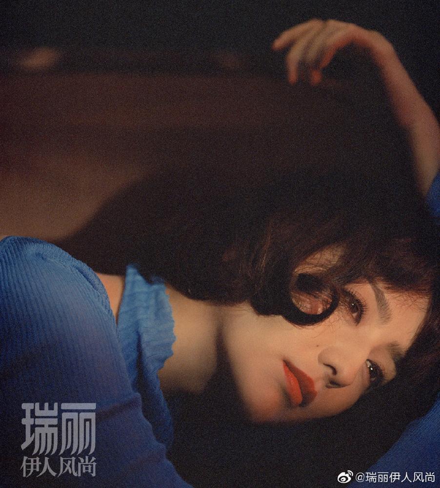 Đồng Lệ Á đẹp đến trụy tim người xem khi xuất hiện trên bìa tạp chí-3