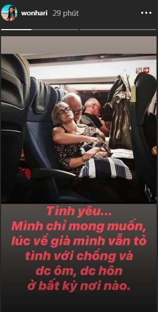 Hari Won hé lộ tâm nguyện về già: Được hôn Trấn Thành bất kỳ nơi đâu-1