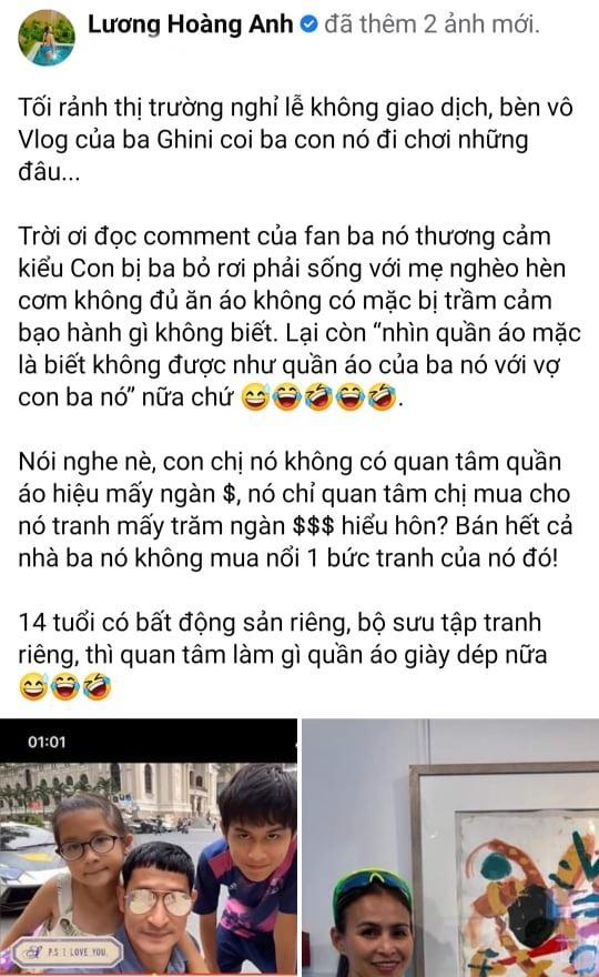 Vợ cũ xóc xiểm khả năng tài chính của Huy Khánh-4