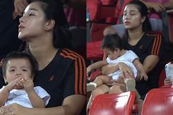 Khánh Linh lộ thân hình phát tướng sau khi sinh con cho Bùi Tiến Dũng