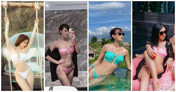 Sunht khoe vòng 1 sau nghi án độ loa: đụng hàng bikini với nữ hoàng nội y, hoa hậu, người mẫu mà không ngán-10