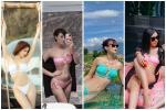 Sunht khoe vòng 1 sau nghi án 'độ loa': đụng hàng bikini với nữ hoàng nội y, hoa hậu, người mẫu mà không ngán