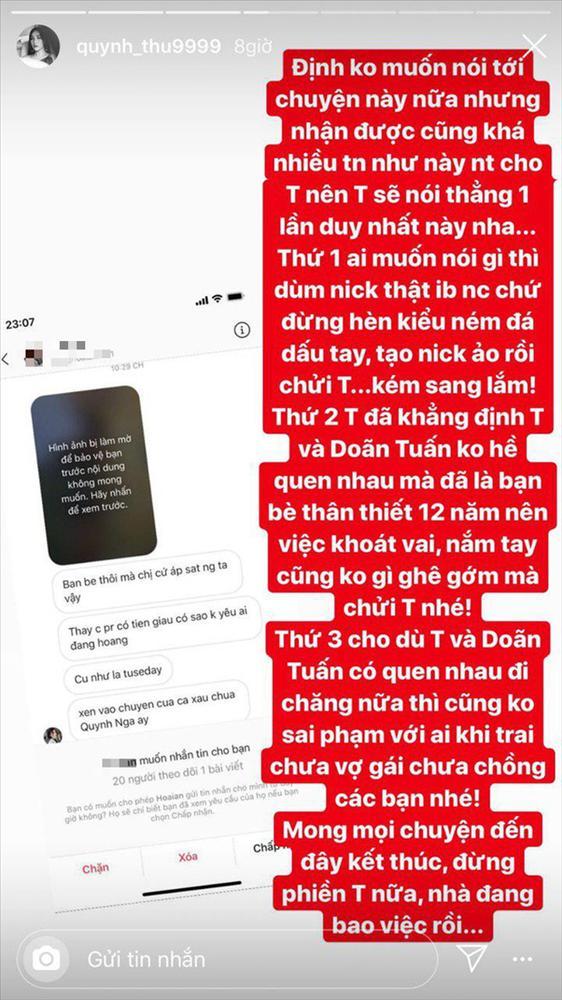 Quỳnh Thư bị ném đá là Tuesday: Trai chưa vợ, gái chưa chồng có gì sai?-3