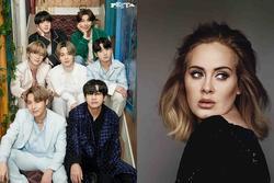 BTS 'lật đổ' Adele bằng kỷ lục khiếp khủng trên Itunes