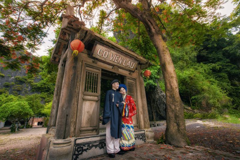 Ảnh cưới xuyên không của cô nàng Phú Quốc chủ động cầm cưa crush bằng list nhạc thất tình-10