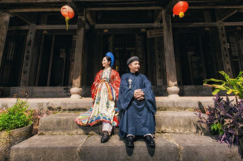 Ảnh cưới xuyên không của cô nàng Phú Quốc chủ động cầm cưa crush bằng list nhạc thất tình-11