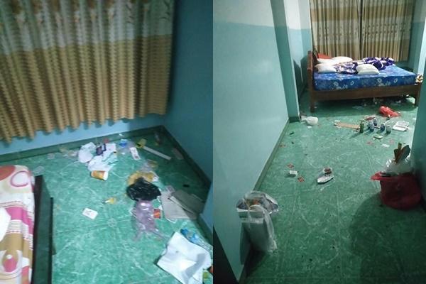 Chủ khách sạn hết hồn với căn phòng ngập rác, còn bị 2 gái đẹp bùng tiền-2