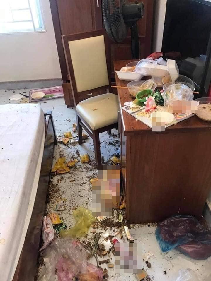 Chủ khách sạn hết hồn với căn phòng ngập rác, còn bị 2 gái đẹp bùng tiền-3
