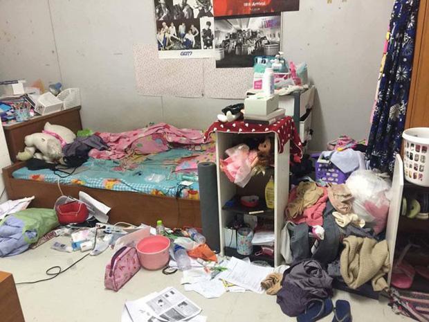 Chủ khách sạn hết hồn với căn phòng ngập rác, còn bị 2 gái đẹp bùng tiền-7