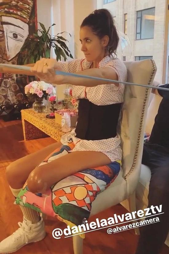 Hoa hậu Colombia làm quen cuộc sống mới sau cưa chân-3