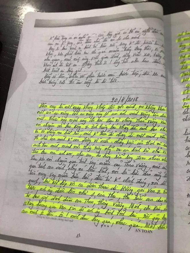 Vụ anh trai truy sát gia đình em gái: Hé lộ sự thật qua nhật ký cuối đời của nữ nạn nhân-6