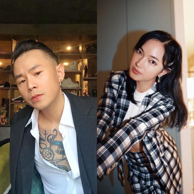 Binz - Châu Bùi và các cặp rapper - người đẹp nổi tiếng giới trẻ-1