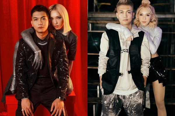 Binz - Châu Bùi và các cặp rapper - người đẹp nổi tiếng giới trẻ-6