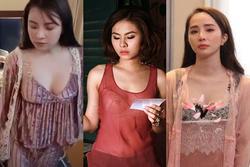 Mỹ nhân Việt và những chiếc váy ngủ trễ nải nóng bỏng trên màn ảnh