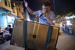 Đề nghị chấm dứt hát karaoke bằng loa kéo