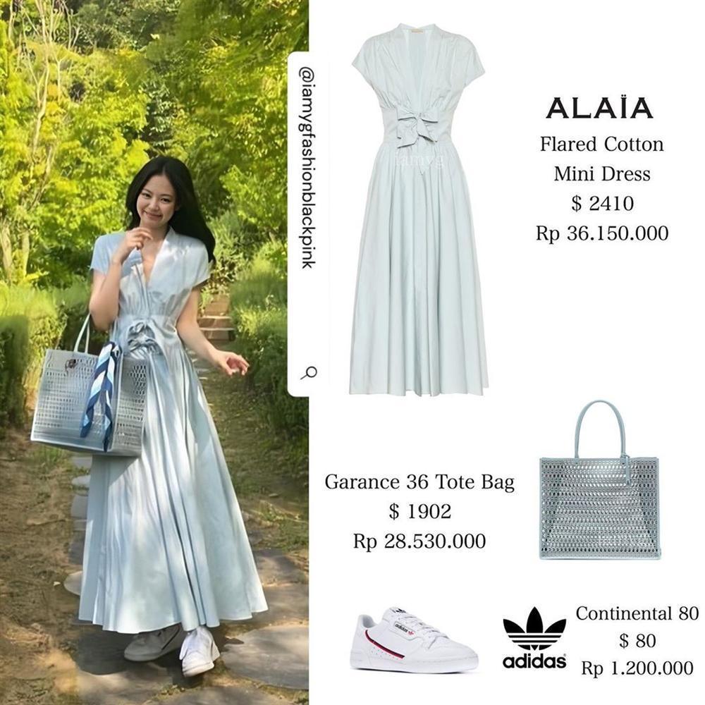 Công chúa YG như Jennie: Thảnh thơi đi chơi cũng diện nguyên cây hàng hiệu với giá trị khủng-3