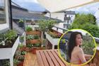Góc ban công 'cực chill', mang đậm bóng dáng Hà Nội của cặp vợ chồng ở Đức