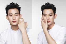 Kim Soo Hyun bớt đẹp trai một nửa vì sở thích chụp ảnh tự 'dìm'
