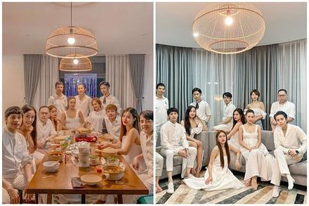 Bức ảnh quyền lực nhất Vbiz: Noo Phước Thịnh và Mai Phương Thúy e ấp trong tiệc của Gil Lê