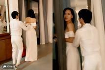 Phát sốt với clip Noo Phước Thịnh kéo khóa váy cho Mai Phương Thúy