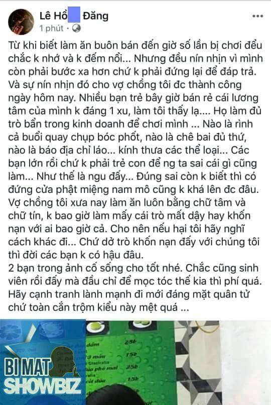 Bị bóc phốt bán hàng không có tâm, dàn sao Việt phản ứng thế nào?-4