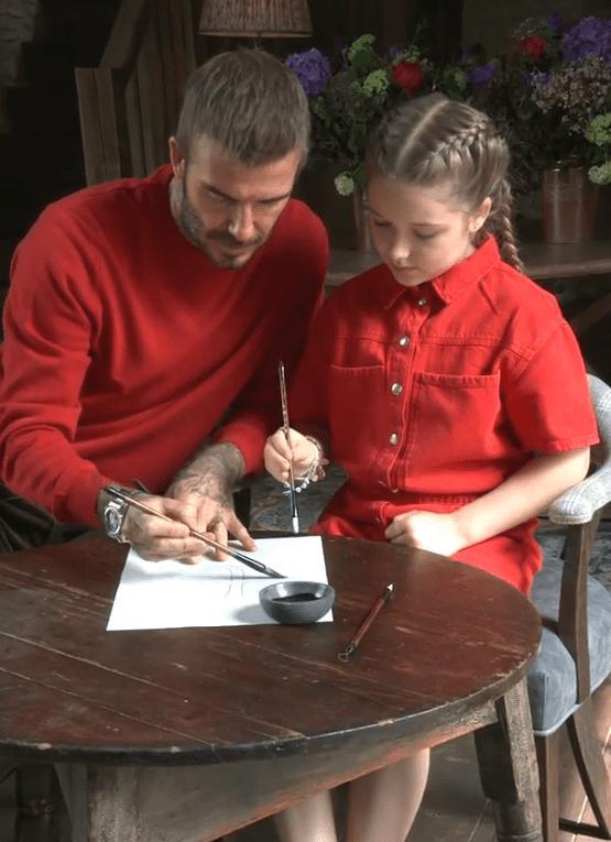 Bước sang tuổi thứ 9, tiểu thư nhà David Beckham trổ mã ngày càng xinh đẹp-1
