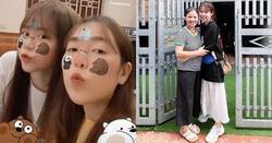 Không chỉ gần gũi mẹ chồng tương lai, Huỳnh Anh còn rất thân với chị dâu Quang Hải