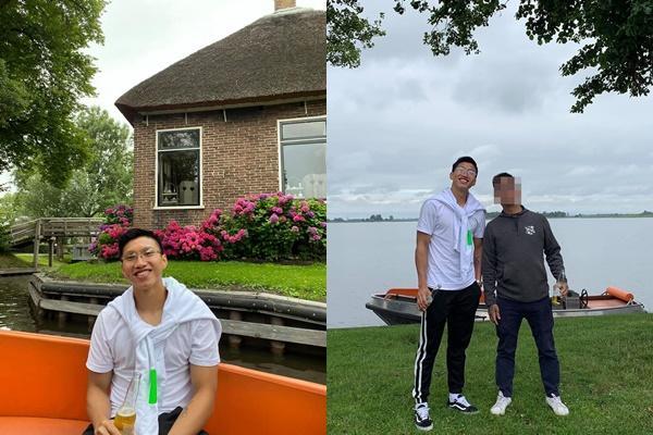 Về nước sau gần 1 năm sang Hà Lan thi đấu, ngoại hình đô con của Văn Hậu gây chú ý-3