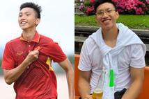 Về nước sau gần 1 năm sang Hà Lan thi đấu, ngoại hình đô con của Văn Hậu gây chú ý