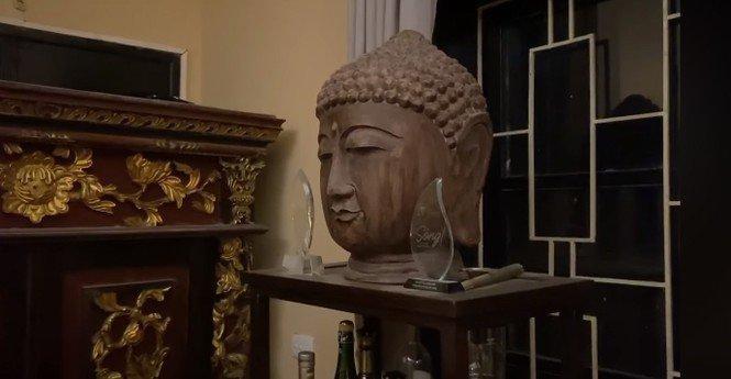 Trầm trồ trước không gian sống tràn ngập tượng Phật của Diva Thanh Lam và mẹ-7