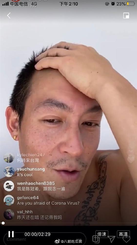 Trần Quán Hy lộ dung mạo xuống cấp, không nhận ra tra nam khét tiếng một thời-1