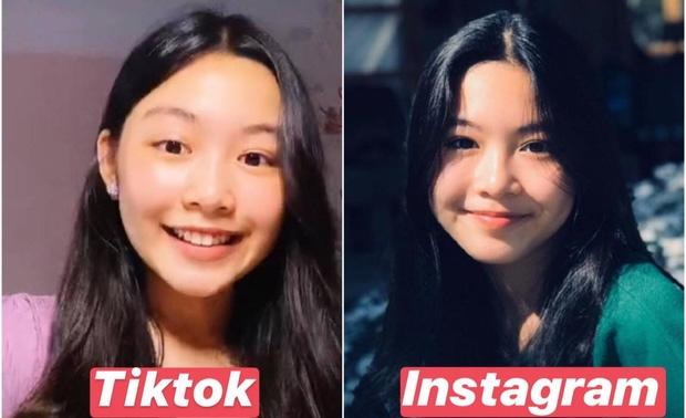 Con gái lớn nhà MC Quyền Linh chứng minh: Vẻ đẹp cam thường không hại được, xài app để cho vui-3
