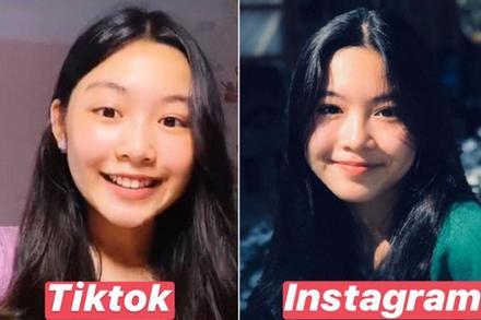 Con gái lớn nhà MC Quyền Linh chứng minh: Vẻ đẹp cam thường không 'hại' được, xài app để cho vui