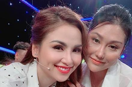Phi Thanh Vân nhợt nhạt khi chung khung hình với hoa hậu Diễm Hương