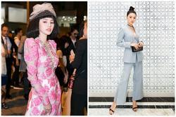 Từ thảm đỏ đến street style, Jolie Nguyễn đã diện là nguyên 'cây' hàng hiệu cả tỷ đồng