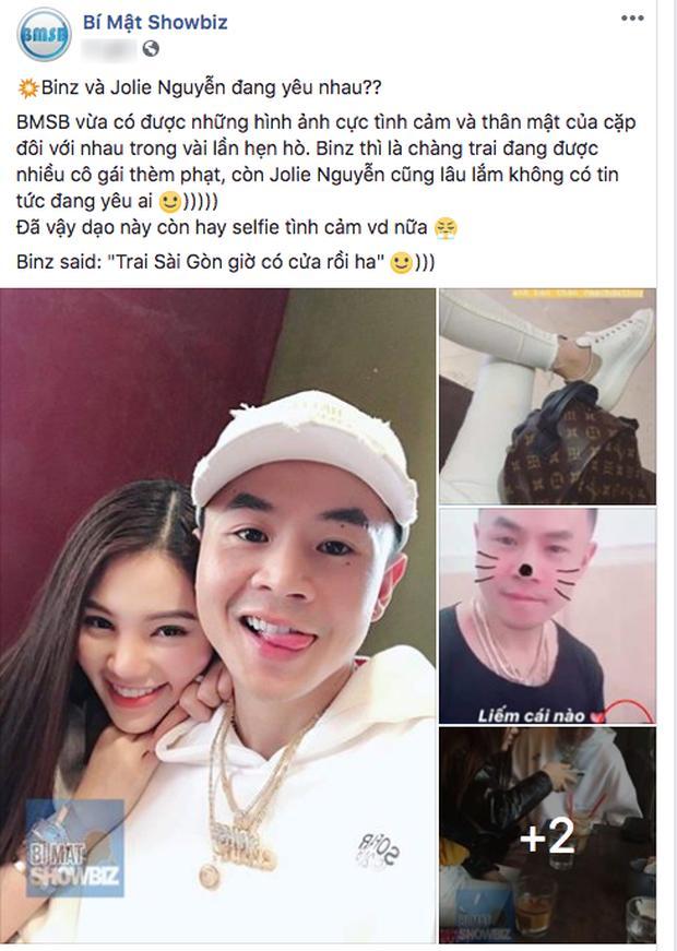 Hoa hậu người Việt tại Úc Jolie Nguyễn từng hẹn hò rapper BinZ-1