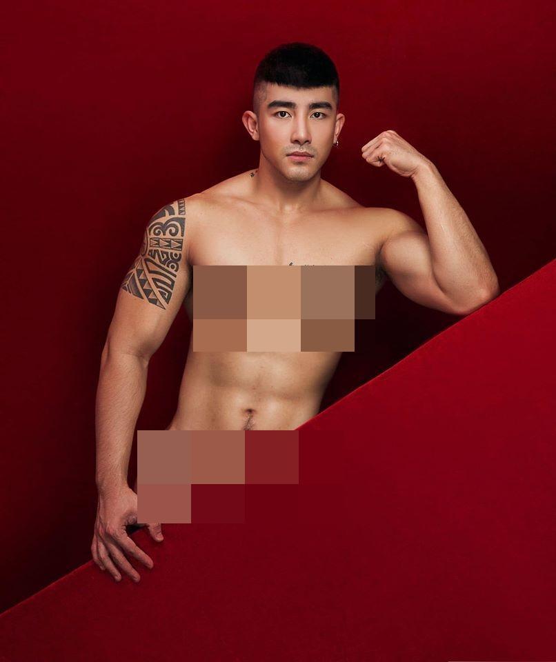 Ngượng chín mặt với loạt ảnh khỏa thân của tú ông Lục Triều Vỹ-14