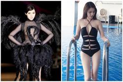 Jolie Nguyễn chuộng đồ bơi sexy và váy áo xuyên thấu 'mặc như không'