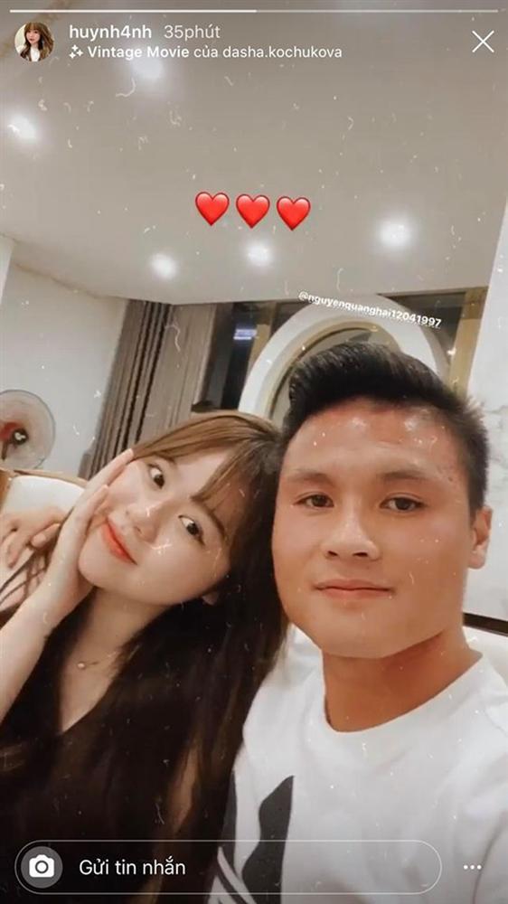Huỳnh Anh công khai ảnh bên Quang Hải sau ồn ào, khẳng định tình cảm vẫn mặn nồng-3