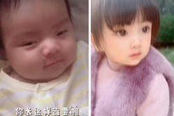 Sinh ra bị họ hàng kém duyên chê bai diện mạo, 4 năm sau bé gái 'lột xác' đến bố mẹ cũng ngỡ ngàng