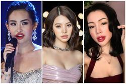 Jolie Nguyễn thuộc top mỹ nhân sở hữu đôi môi tều như 'cá chùi kính'
