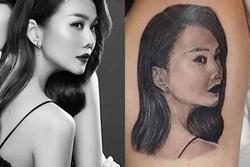 Mừng sinh nhật Thanh Hằng, fan chịu đau 12 tiếng để xăm hình siêu mẫu