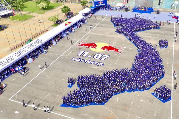 Red Bull ghi dấu ấn với Ngày Tích cực, xác lập kỷ lục châu Á-1